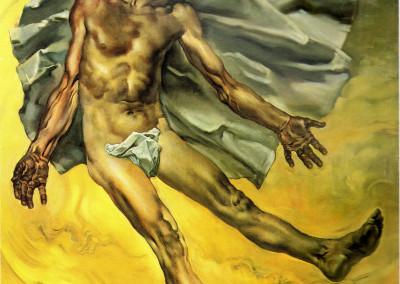 Abele, 1964, olio su tavola, 46x56 cm