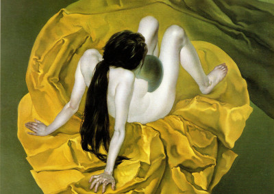 Accidia, 1966, olio su tavola, 35x42cm