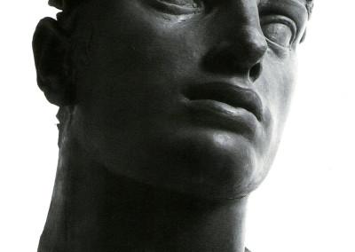 Adamo, 1950, plastilina, 28x25x35 cm