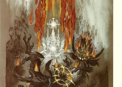 Tavola XIX: Gog e Magog (mitici nomi di popoli nemici di Dio)