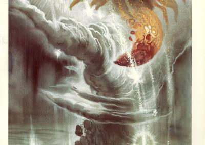 Tavola IV: Il cataclisma