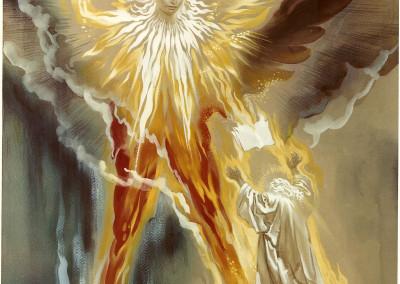 Tavola VIII: L'angelo con il Libro