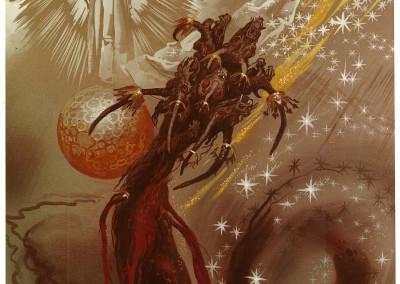 Tavola X: La Donna e il dragone