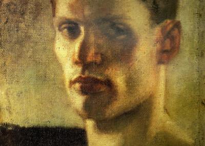 Autoritratto, 1933, olio su tela, 38x45 cm