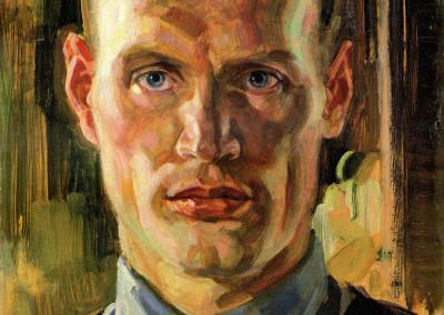 Autoritratto, 1946, olio su tavola, 30x40 cm