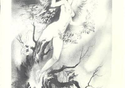 """Daphne, litografia della serie """"Deesses"""""""