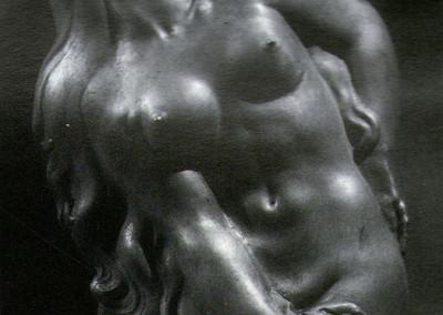 Frine, 1975, plastilina, 41x76 cm