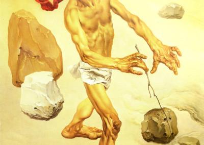 Il Cieco, 1960, olio su tela, 40x60 cm