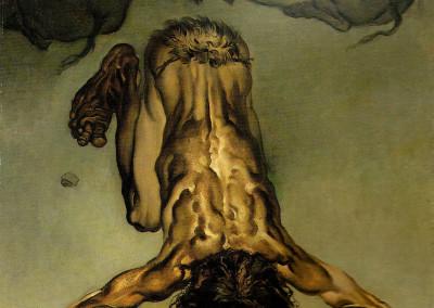 Il Figliol Prodigo, 1960, olio su tavola, 40x60 cm