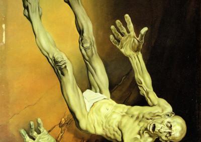 Il prossimo del samaritano, 1960, olio su tavola, 50x60 cm