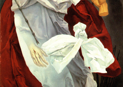 La Passione, 1962, olio su tavola, 34x60 cm