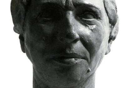 La Madre, 1936, terracotta, 18x30 cm
