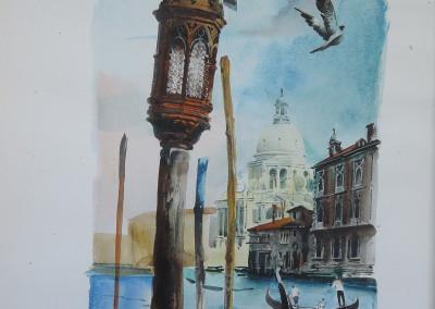 Venezia, acquarello su carta 38x50 cm