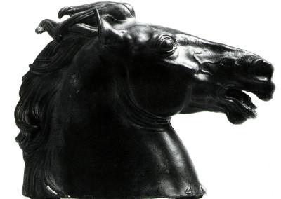 Il Re, 1963, bronzo, 16x24 cm