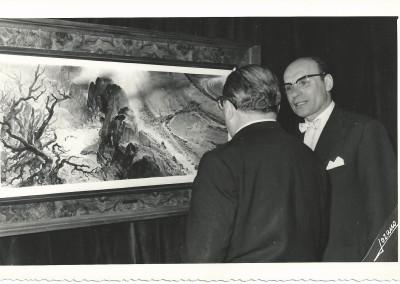 """Mostra """"Omaggio a Dante"""", Biblioteca nazionale, Istituto Italiano di Cultura, Madrid,  giugno 1966"""