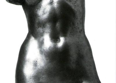 Venere, 1961, bronzo, 15x30 cm